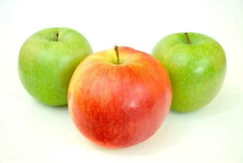 Les pommes - Des collations saines et bonnes pour les dents